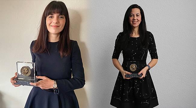 İki genç kadın bilim insanı Rahmi M. Koç Bilim Madalyası'nı kazandı
