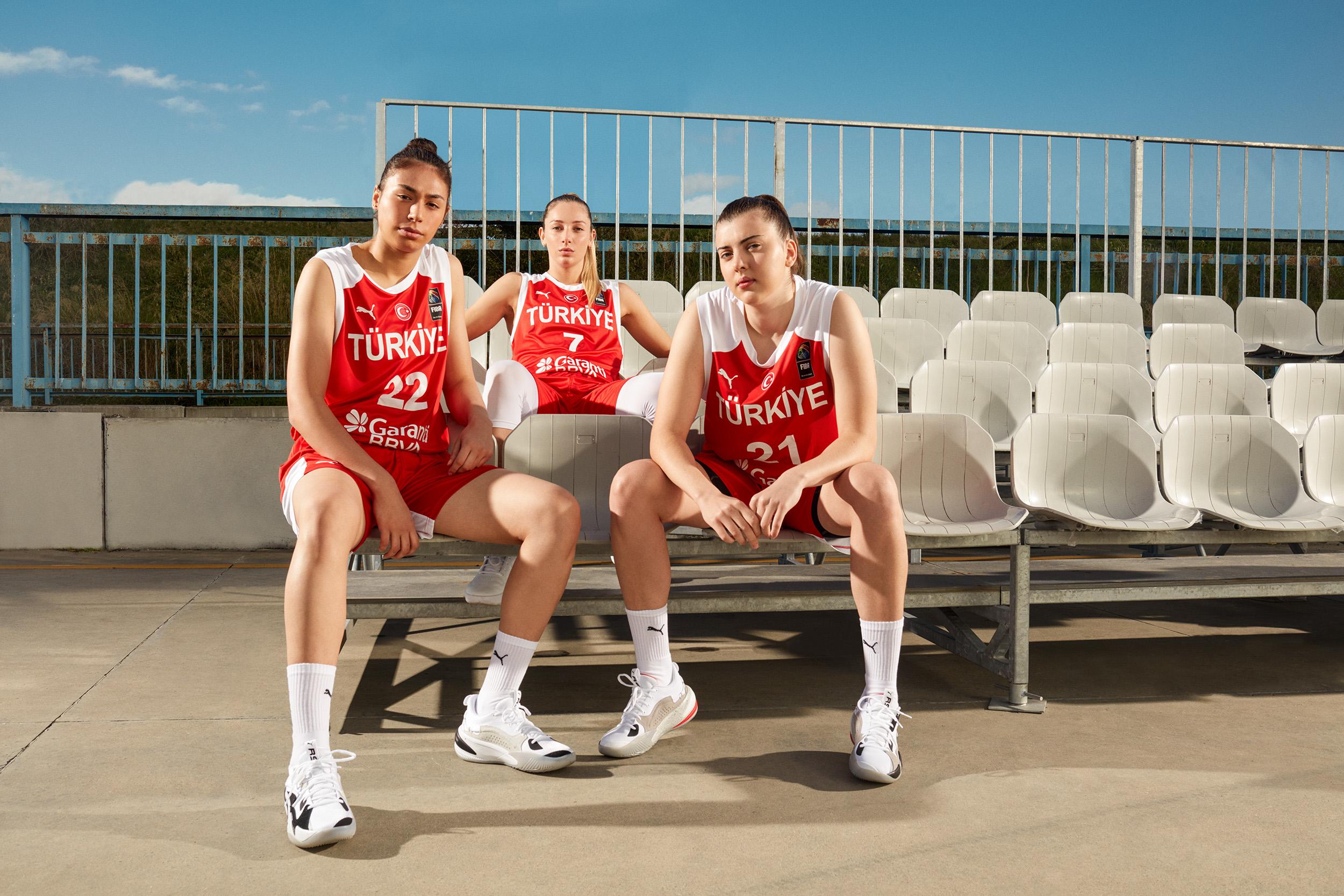 PUMA'dan Kadın Milli Basketbol Takımı'na Tam Destek