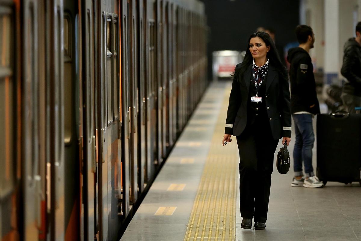 İstanbul'un metro istasyonlarını artık kadınlar yönetecek