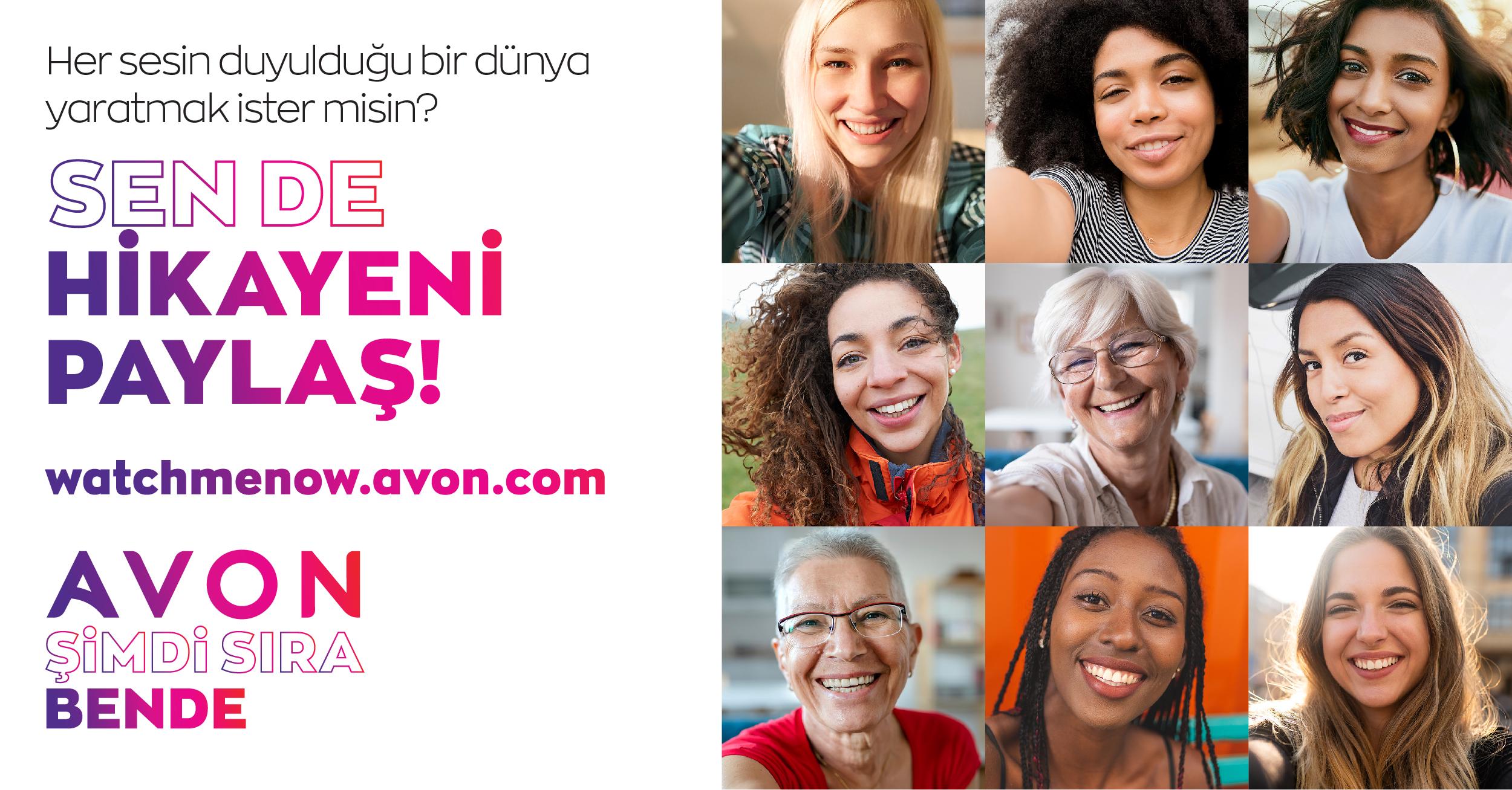 Avon'dan her 1 hikaye için 1 dolar bağış