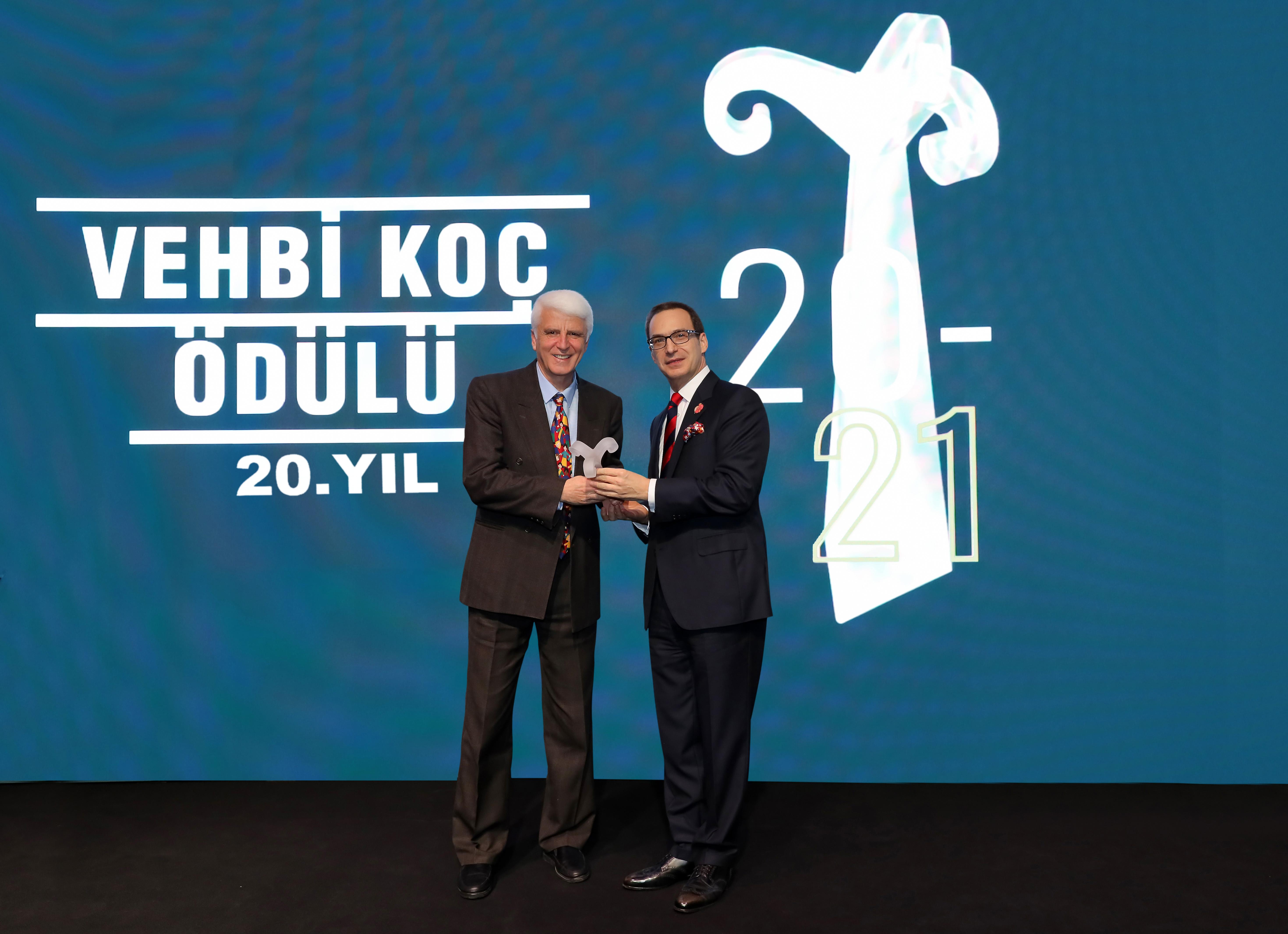Prof. Dr. Hüseyin Vural 20. Vehbi Koç Ödülü'nün sahibi oldu