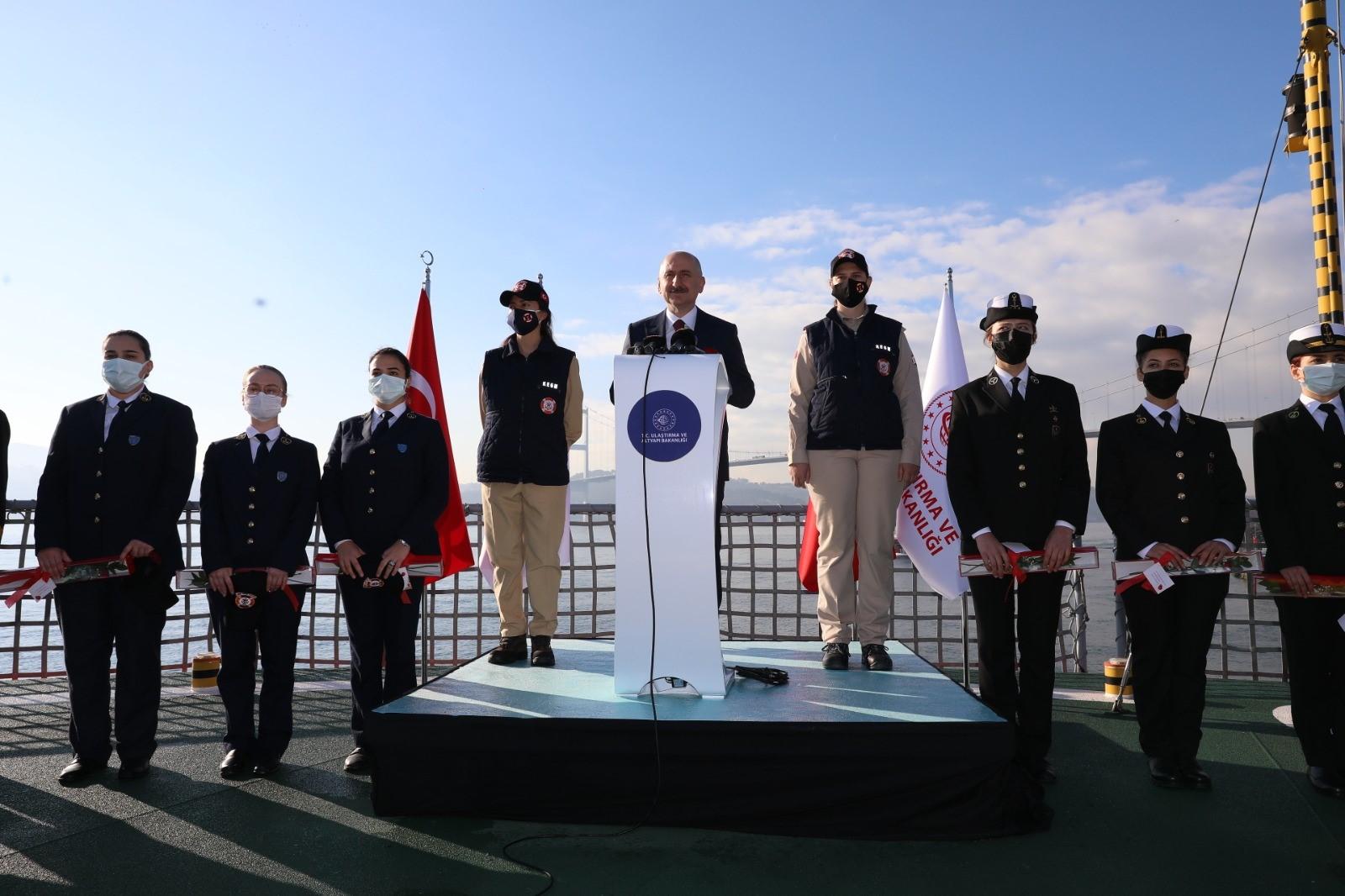 Denizcilikte kadın istihdamının artırılması için anlamlı imza