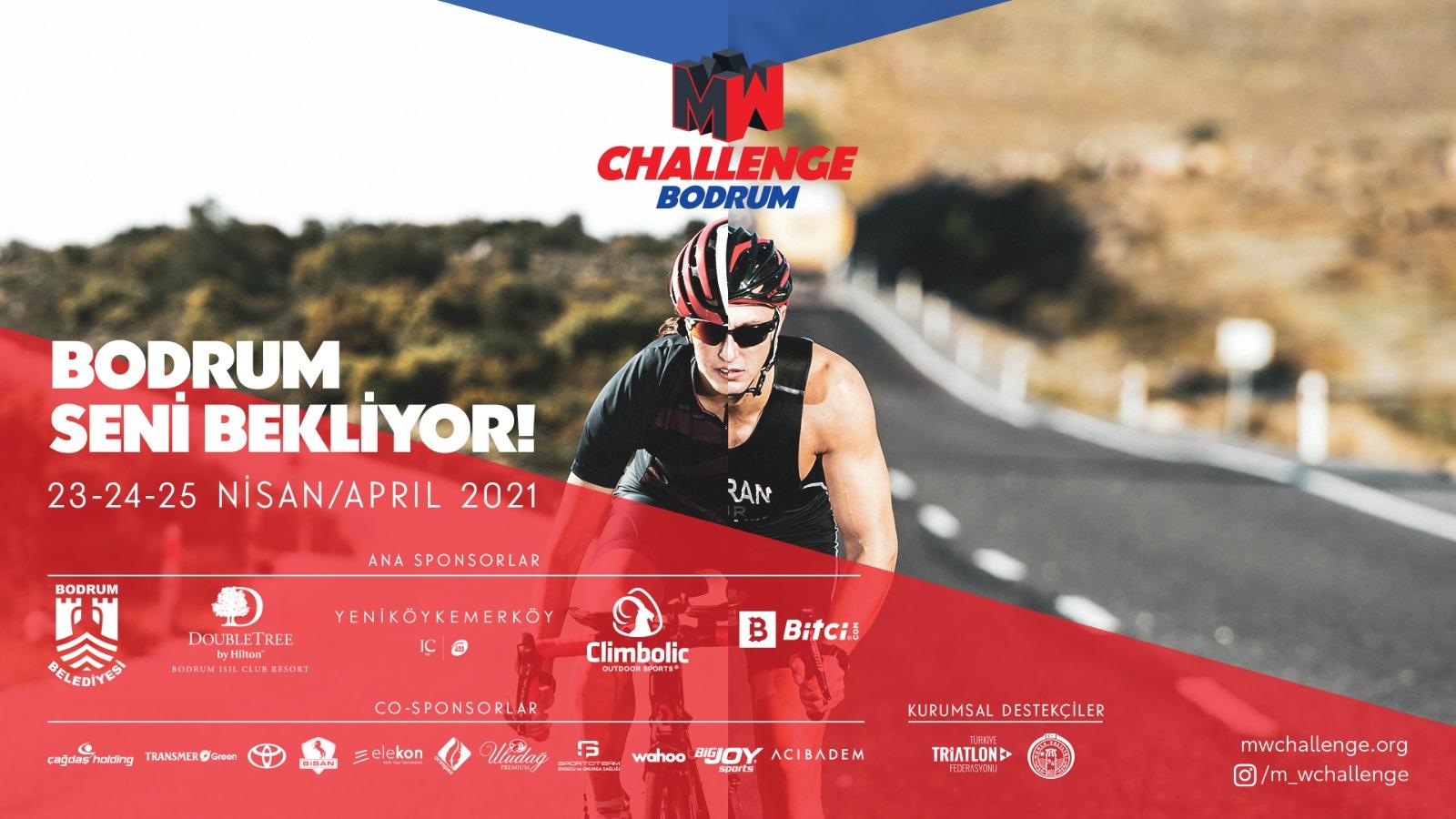 """Rekabetin cinsiyeti mi olur? """"Man&Woman Challenge"""" triatlon yarışları ilk kez Bodrum'da!"""