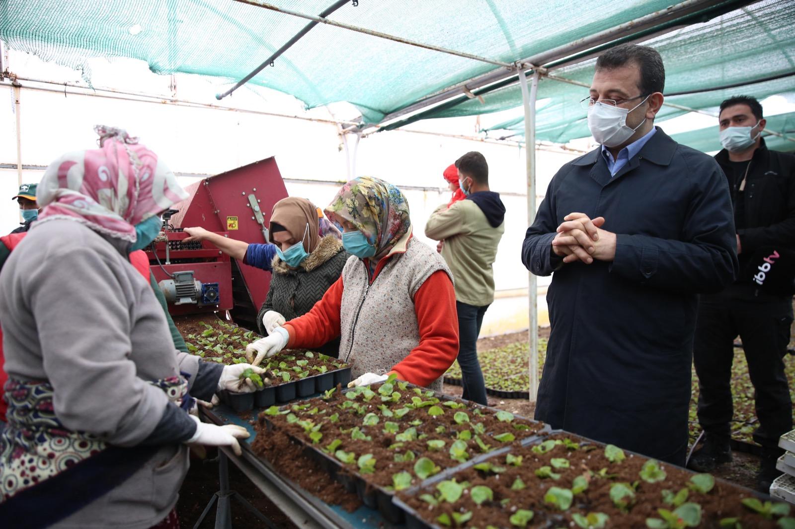 Kadınlar üretti Büyükşehir satıyor