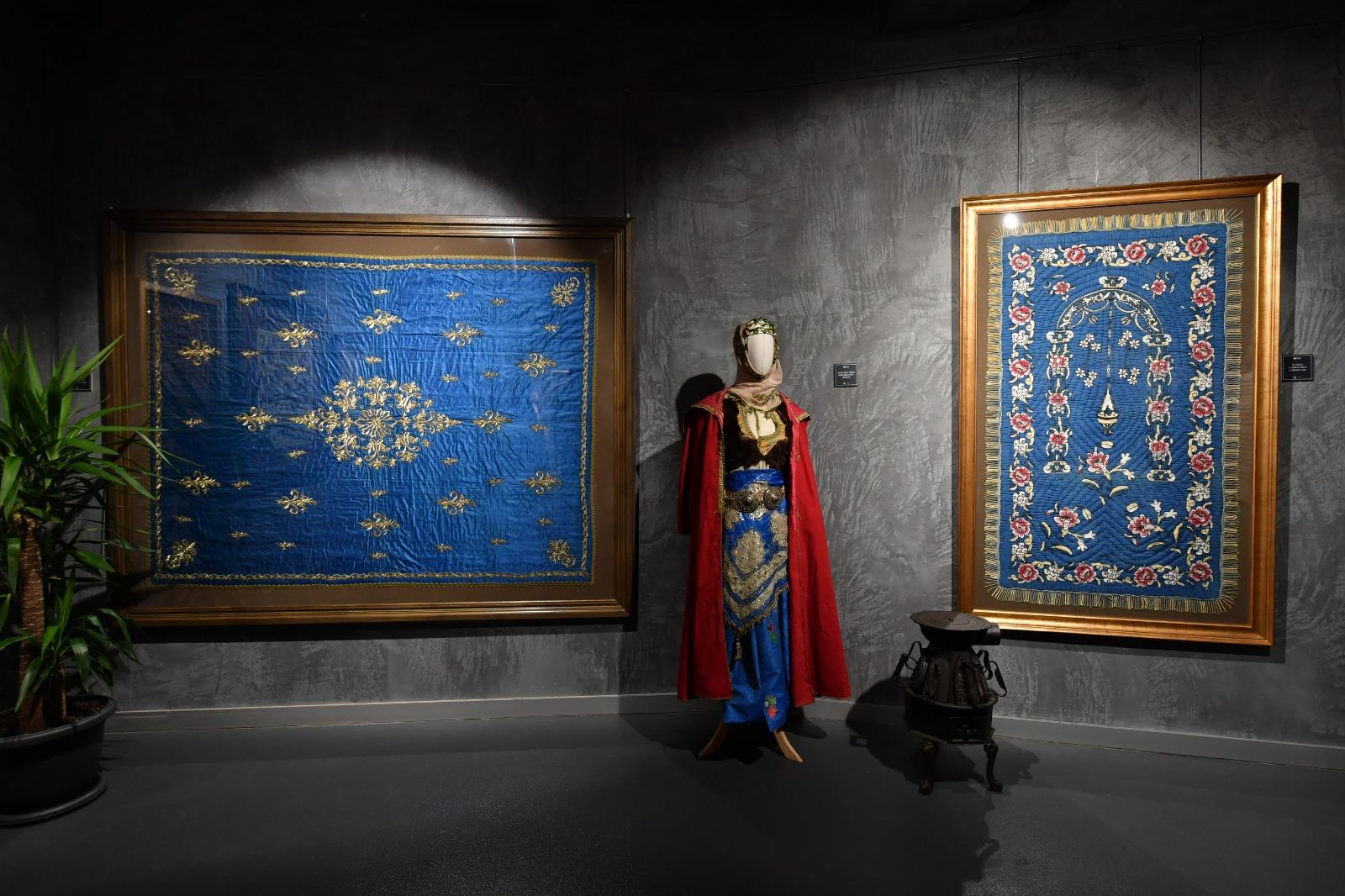 """""""Kalbe Dokunan İlmek"""" Sergisi ile Osmanlı'nın gündelik hayata yön veren eşyalarını keşfedin"""