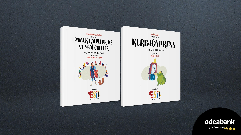 Eşitlikçi masallara 2 yeni kitap eklendi!