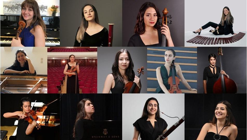 49'uncu İstanbul Müzik Festivali, 13 genç kadın müzisyene destek verecek