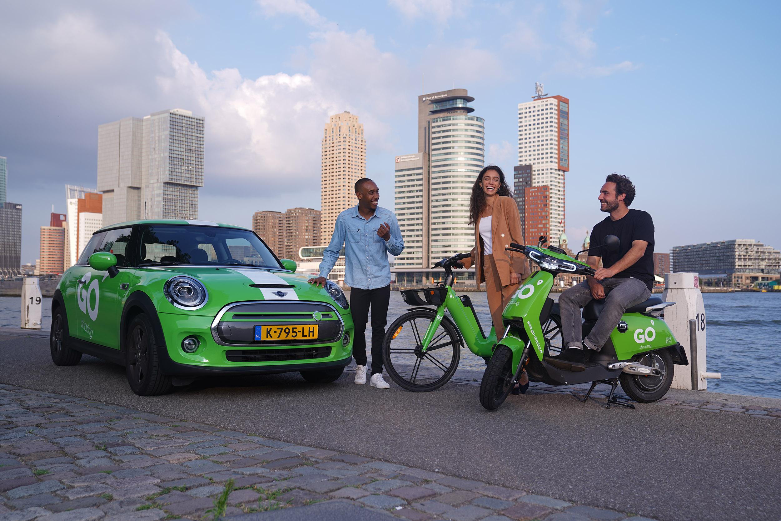 Paylaşımlı moped uygulaması Go Sharing gözünü İstanbul'a çevirdi