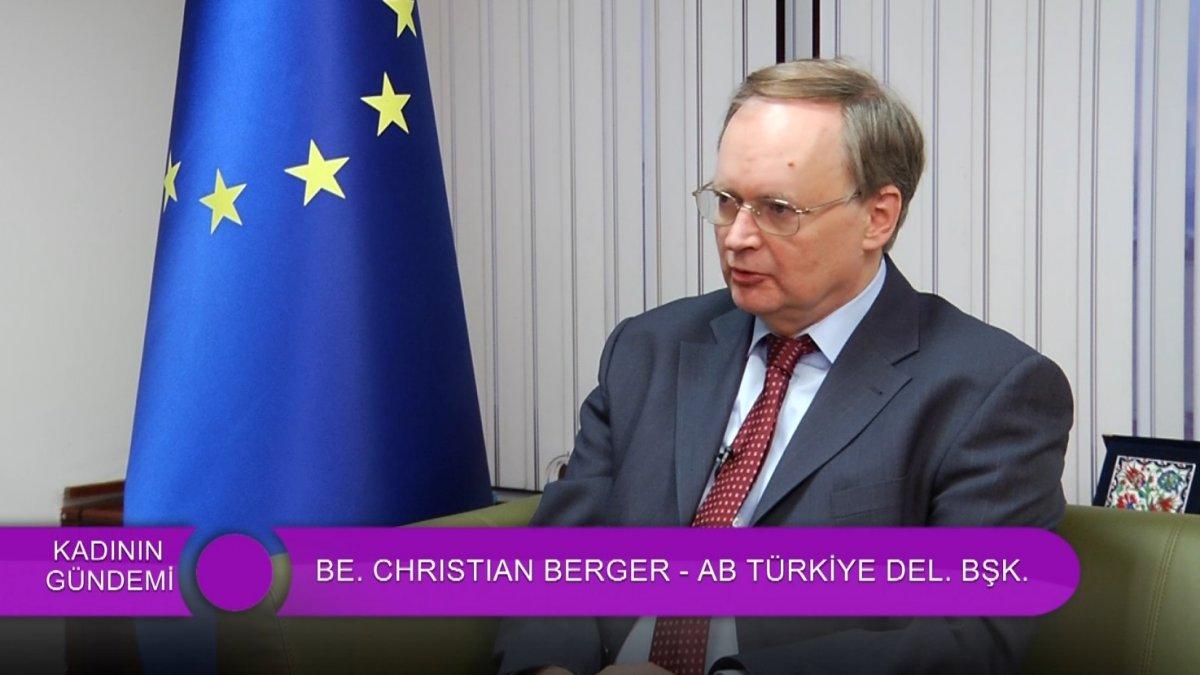 AB - Türkiye Delegasyonu Başkanı Woman TV'deydi!