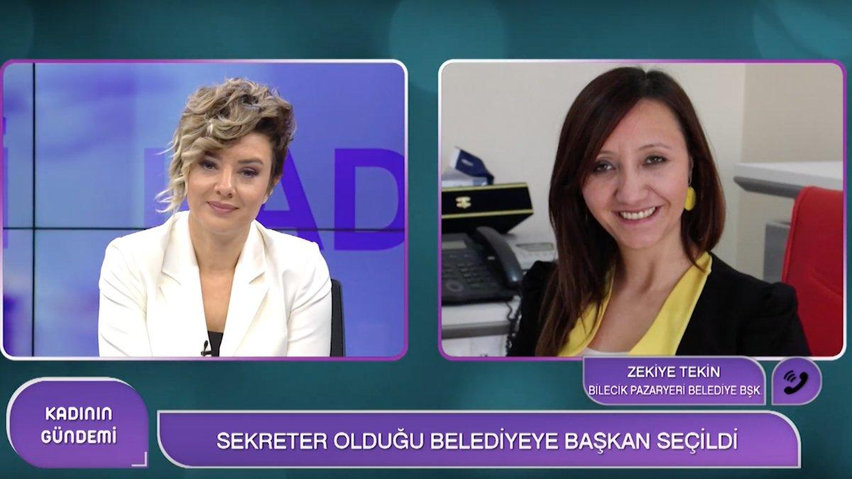 Türkiye'nin Konuştuğu Kadın Belediye Başkanı Woman TV'de...