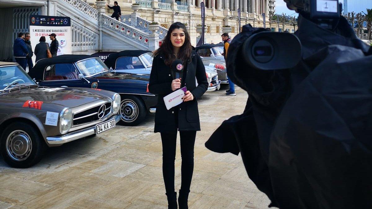 Geleneksel 5. Klasik Otomobil Rallisi başladı. Woman TV'de oradaydı...