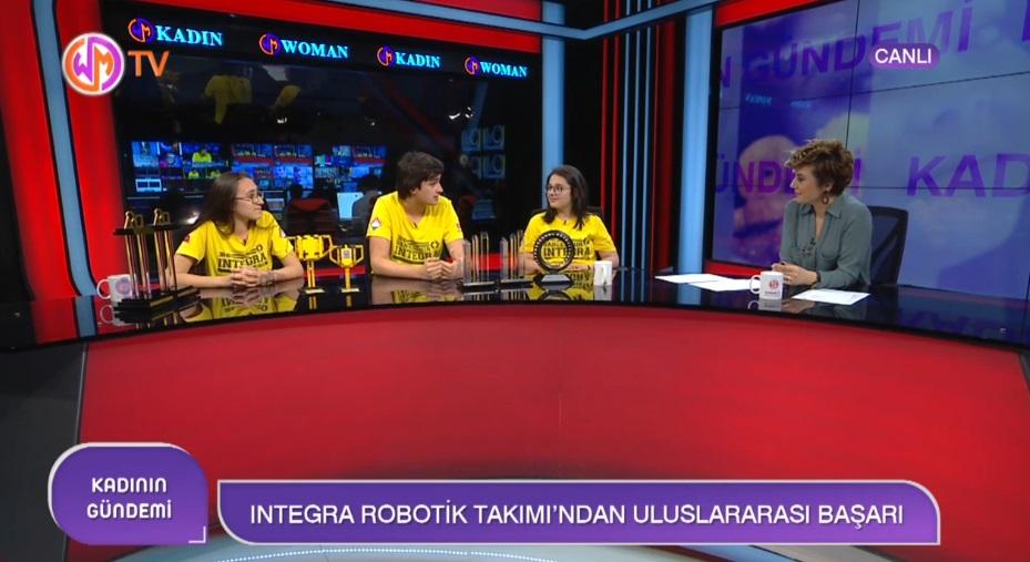 Bahçeşehir Koleji Integra Robotik Takımından Uluslararası Başarı
