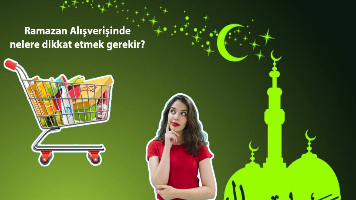 Mısır Çarşı'sında Ramazan Alışverişi