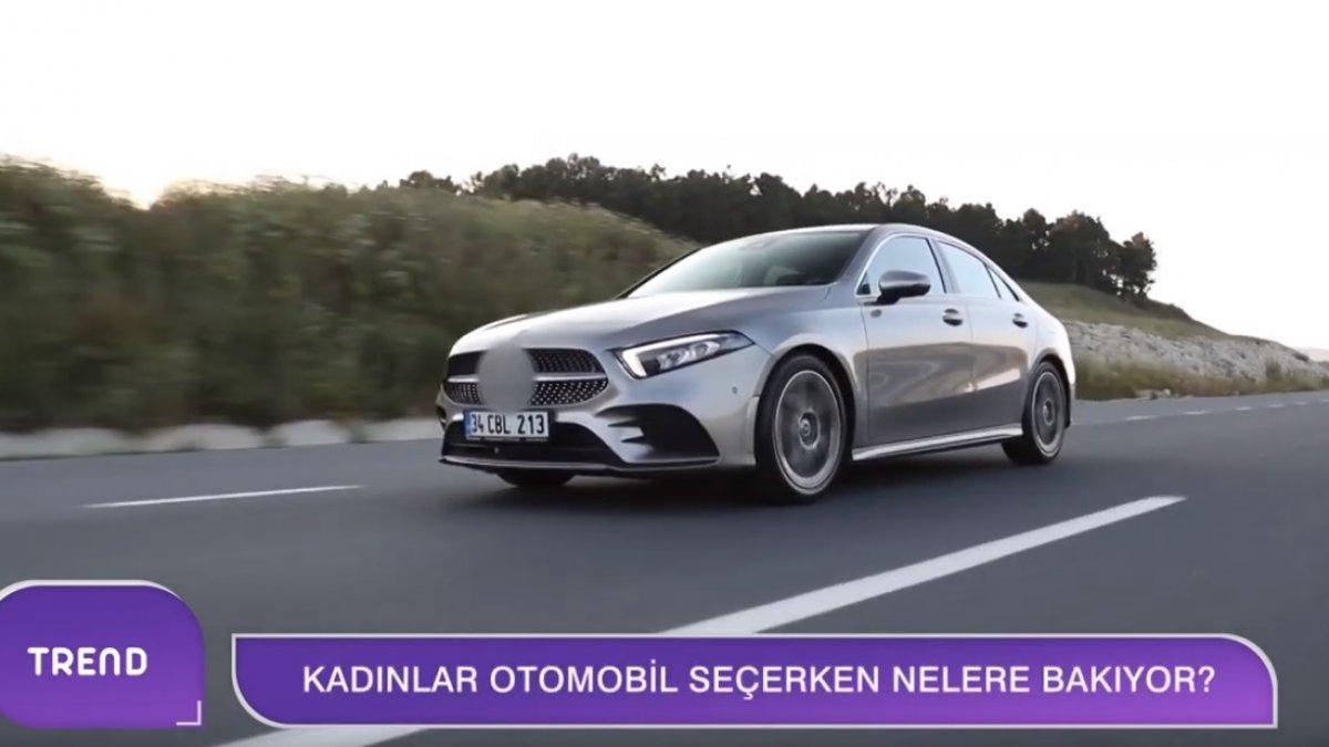 Mercedes Benz'den Kadın Dostu Model