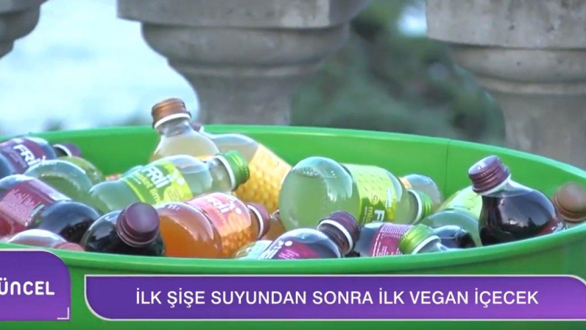 Pınar'dan Vegan İçecek: Frii