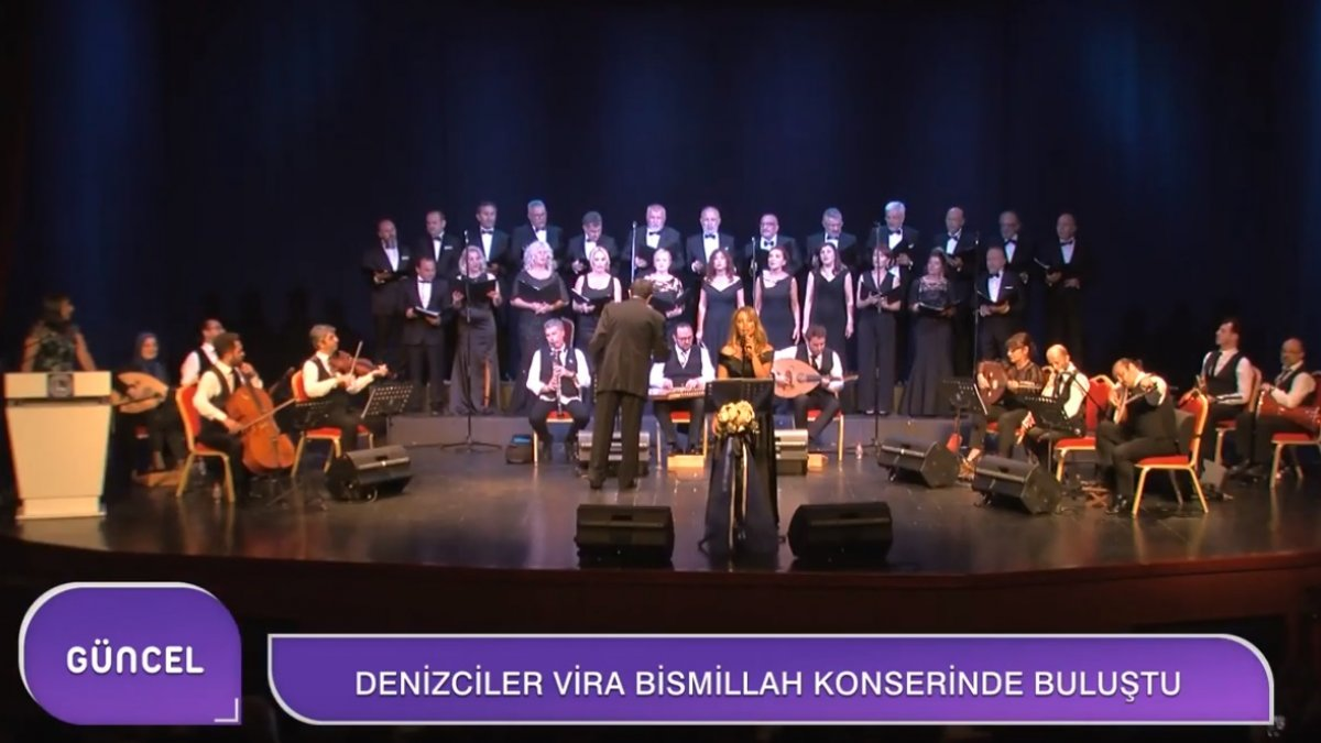 "Denizciler ""Vira Bismilah"" Konserinde Buluştu"