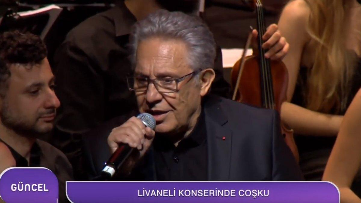 Livaneli Konserine Yoğun İlgi