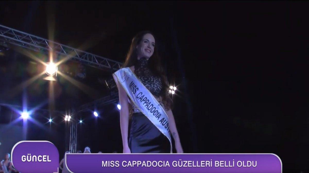 Miss Kapadokya Güzellik Yarışması Sonuçlandı